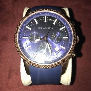 Michael Kors Accessories - Michael Kors 8410 Navy Blue Watch